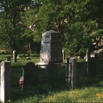 Bucklin Graves in Newman Church Cemetery