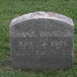 Gravestone of Daniel Francis Bucklin