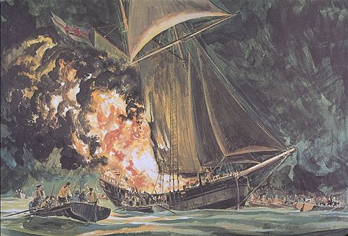 The Buring of the Gaspee