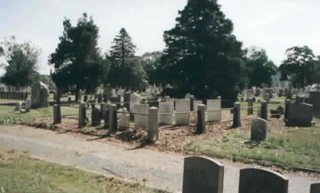 Bucklin Family Graves After Cleanup