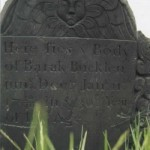 Barak Bucklin Grave d. 11 Jan 1739/1740