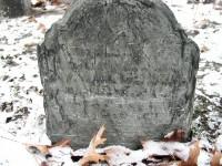 John Bucklin's Gravestone