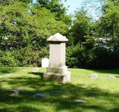 Samuel Slater Bucklin Gravesite