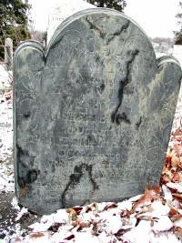 Zerviah Bucklin's Gravestone