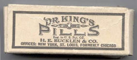 Dr. King's Pills, H.E. Bucklin & Co.