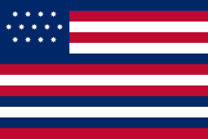 Franklin or Serapis or Paul Jones Flag