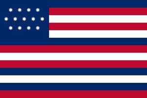 Franklin or Serapis or Paul Jones Flag