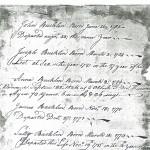 Joseph Bucklin Bible