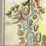 Map of Narragansett Bay 1777
