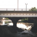 Pawtucket Falls and Bridge, 1999