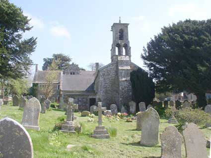 The Parish Church of St Ann's in Radipole, and Manor House