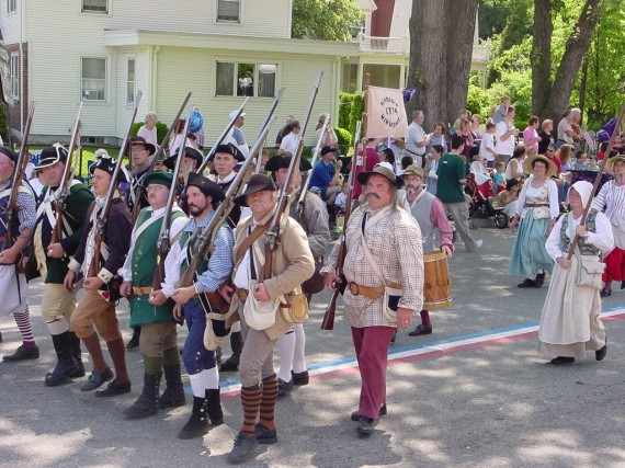 Rehoboth Minute Men at Gaspee Days