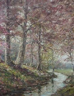 Forest Stream by William Savery Bucklin
