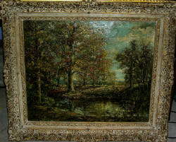 Wooded Landscape by William Savery Bucklin