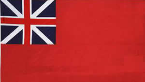 The English Naval Ensign after 1707