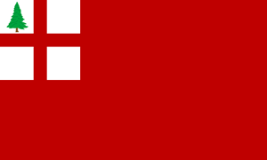 New England Colonies Ensign