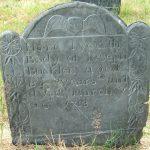 The headstone of Joseph Bucklin (Bucklen) Sr.